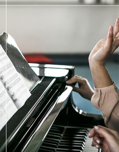 תקצירי הקורסים של תואר שני בחינוך מוזיקלי
