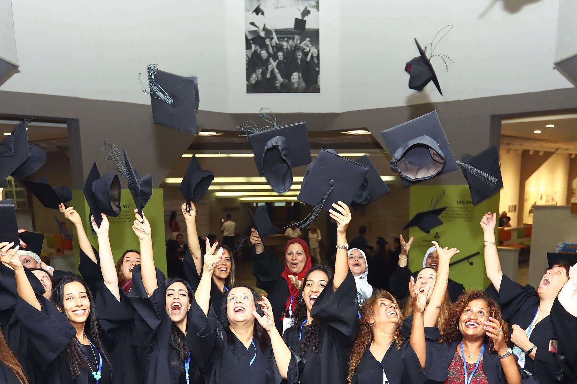טקס הענקת תואר שני מוסמך בחינוך .M.Ed מוסמך בהוראה M.Teach תואר שני בטיפול במוזיקה M.A.A.T