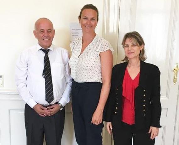 מפגש של חברת סגל עם שרת החינוך של דנמרק ובכירי חינוך נוספים