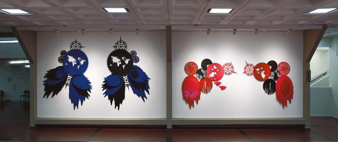 תמונה מתוך התערוכה של אילן הלחמי צילום: אבי אמסלם