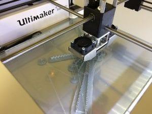תמונה של מדפסת תלת מימד