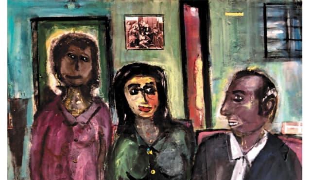 תמונה מתוך התערוכה שוליים