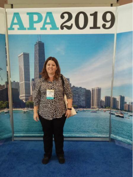 הגב' אלה חמי משתפת מכינוס APA - American Psychological Association שנערך בשיקגו, אוגוסט, 2019