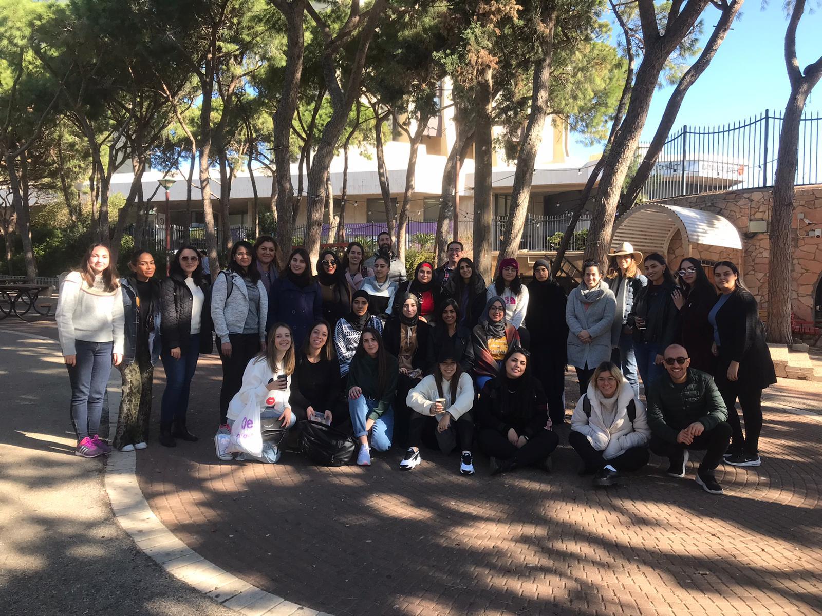 תמונה של הקבוצה מהסיור
