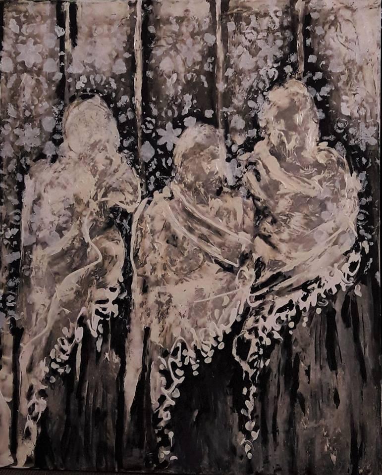 ציור של היאם מוסטפה