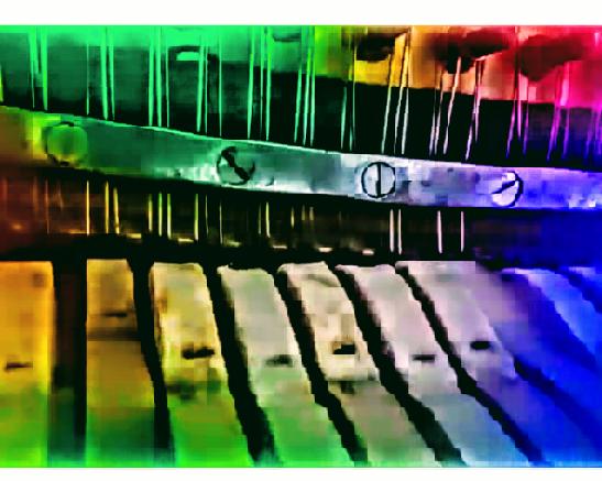 תמונה של הפסנתר של רונן שפירא