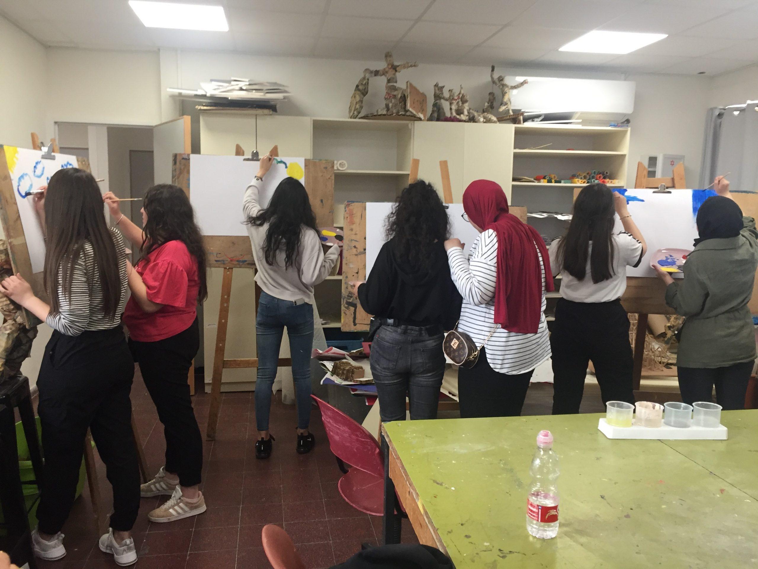 ביקור תיכונים ערבים במכללה